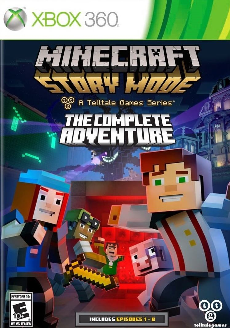 Minecraft: Story Mode The Complete Adventure (Xbox 11