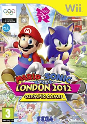 Mario Sonic At The London 2012